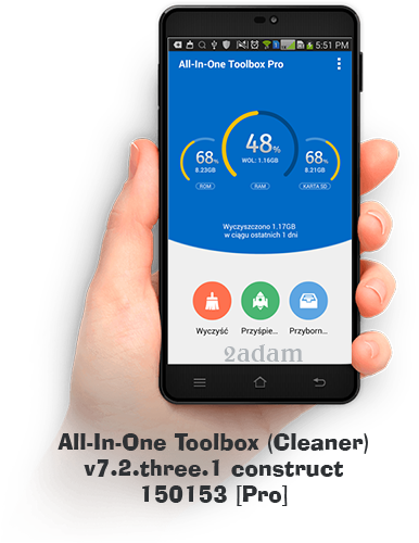 All-In-One Toolbox (Cleaner) v 7.2.three.1 construct 150153 [Pro] (PL)