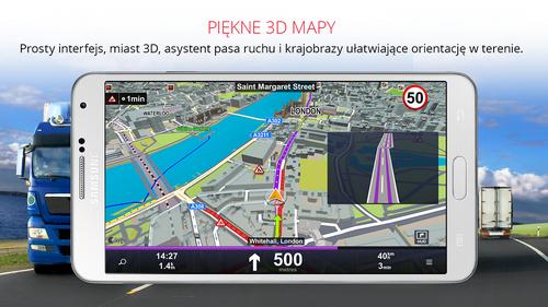 Sygic Truck GPS Navigation v13.7.1 build 118 (PL)